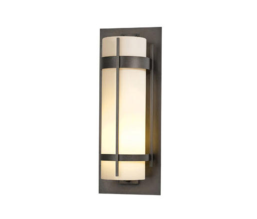 Banded Extra Large Outdoor Sconce By Hubbardton Forge Wall Lights