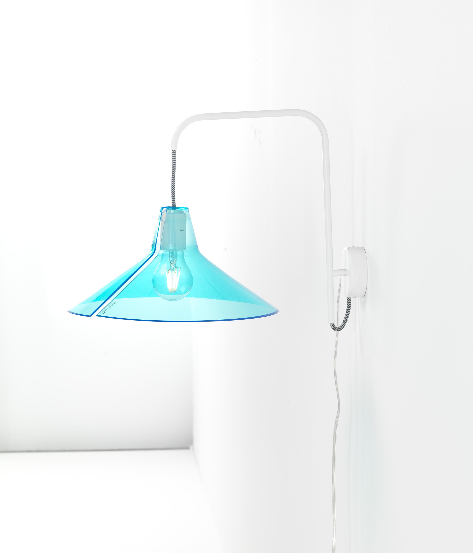 JUPE | LAMPADA DA PARETE - Lampade parete Skitsch by Hub Design ...