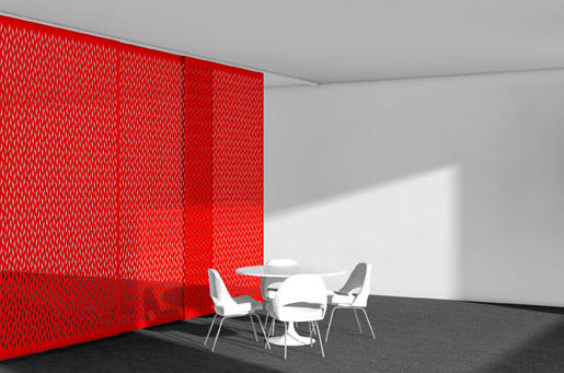 Aro Array 1 Hanging Panel Space Dividing Systems From