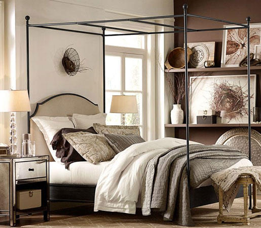 ABERDEEN CANOPY BED - Four poster beds from Distributed by Williams ...
