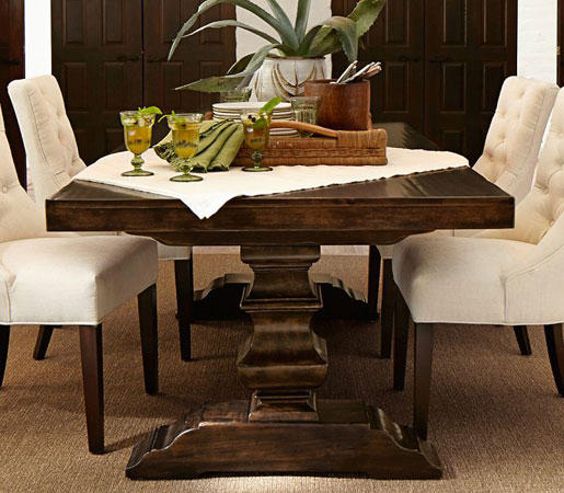 Banks Extended Dining Table By Distributed Williams Sonoma Inc To The Trade