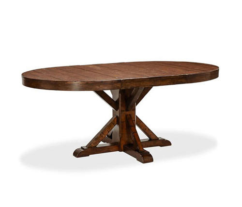 ... Benchwright Extending Pedestal Dining Table By Distributed By  Williams Sonoma, Inc. TO THE