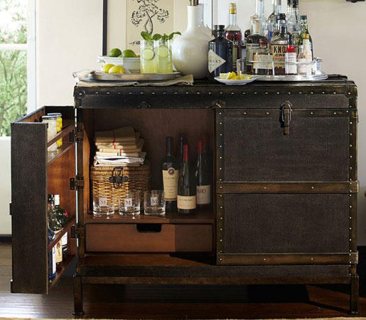 Delicieux Ludlow Trunk Bar Cabinet By Distributed By Williams Sonoma, Inc. TO THE  TRADE