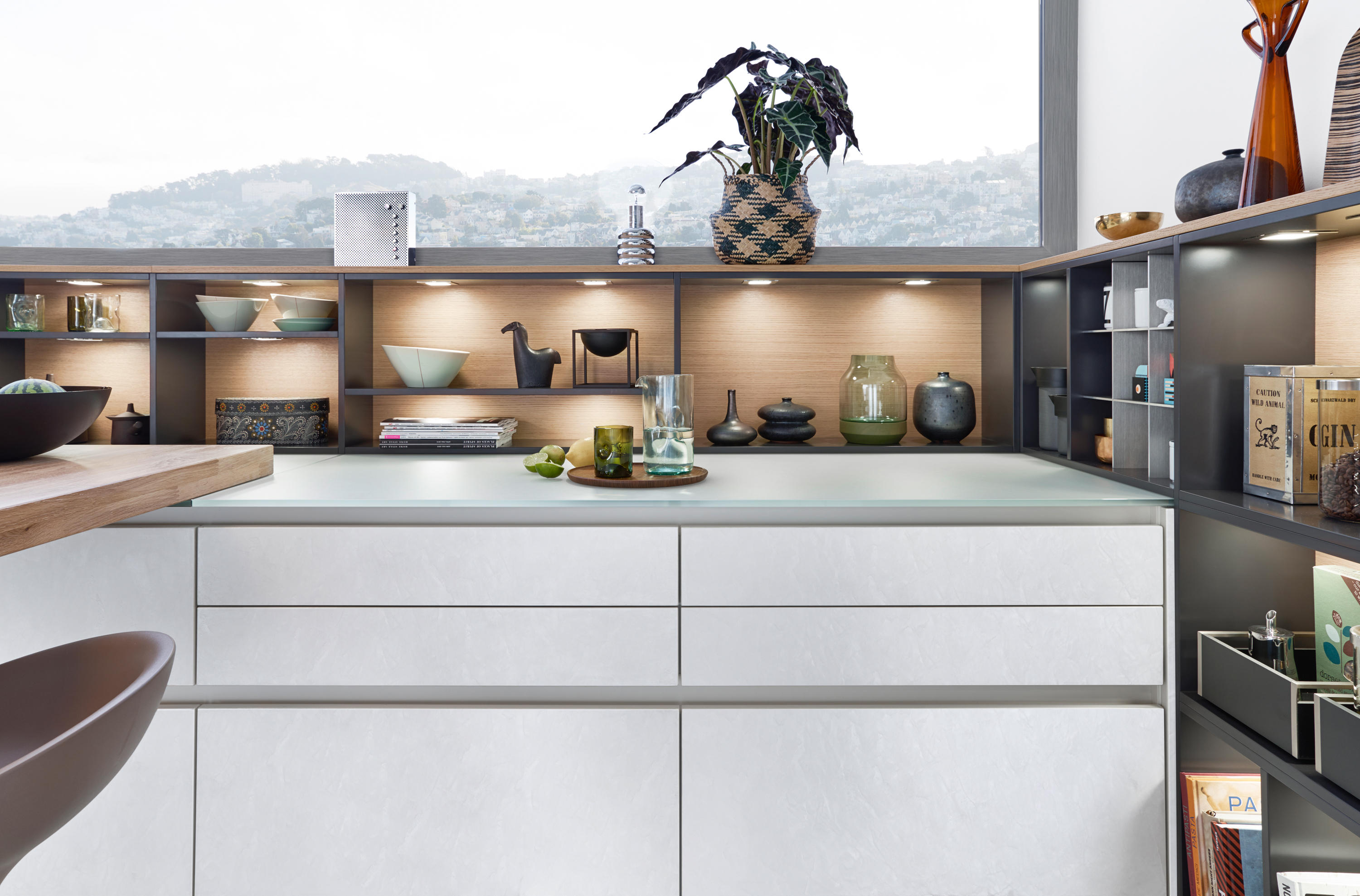 CLASSIC-FS | TOPOS | CONCRETE-C - Fitted kitchens from