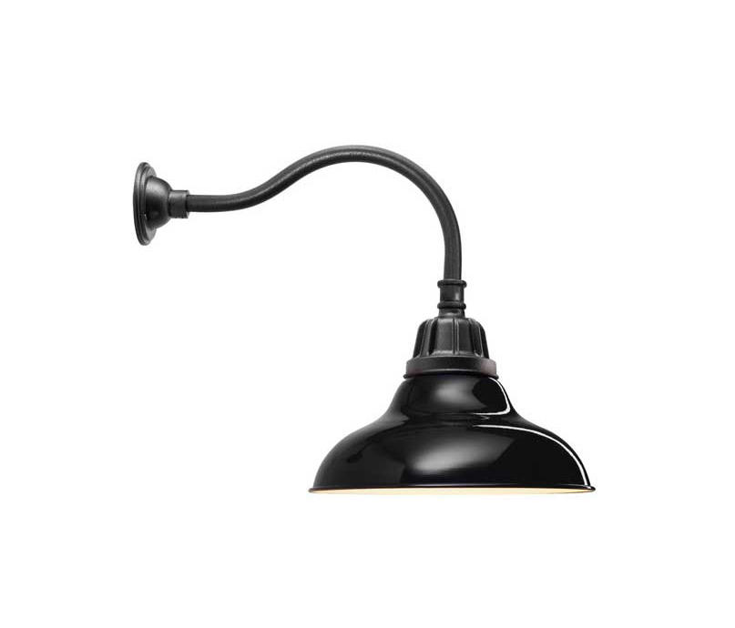 Carson Gooseneck Wall Mount Outdoor Wall Lights From Distributed