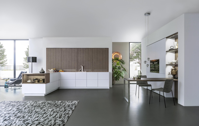pur fs topos einbauk chen von leicht k chen ag architonic. Black Bedroom Furniture Sets. Home Design Ideas