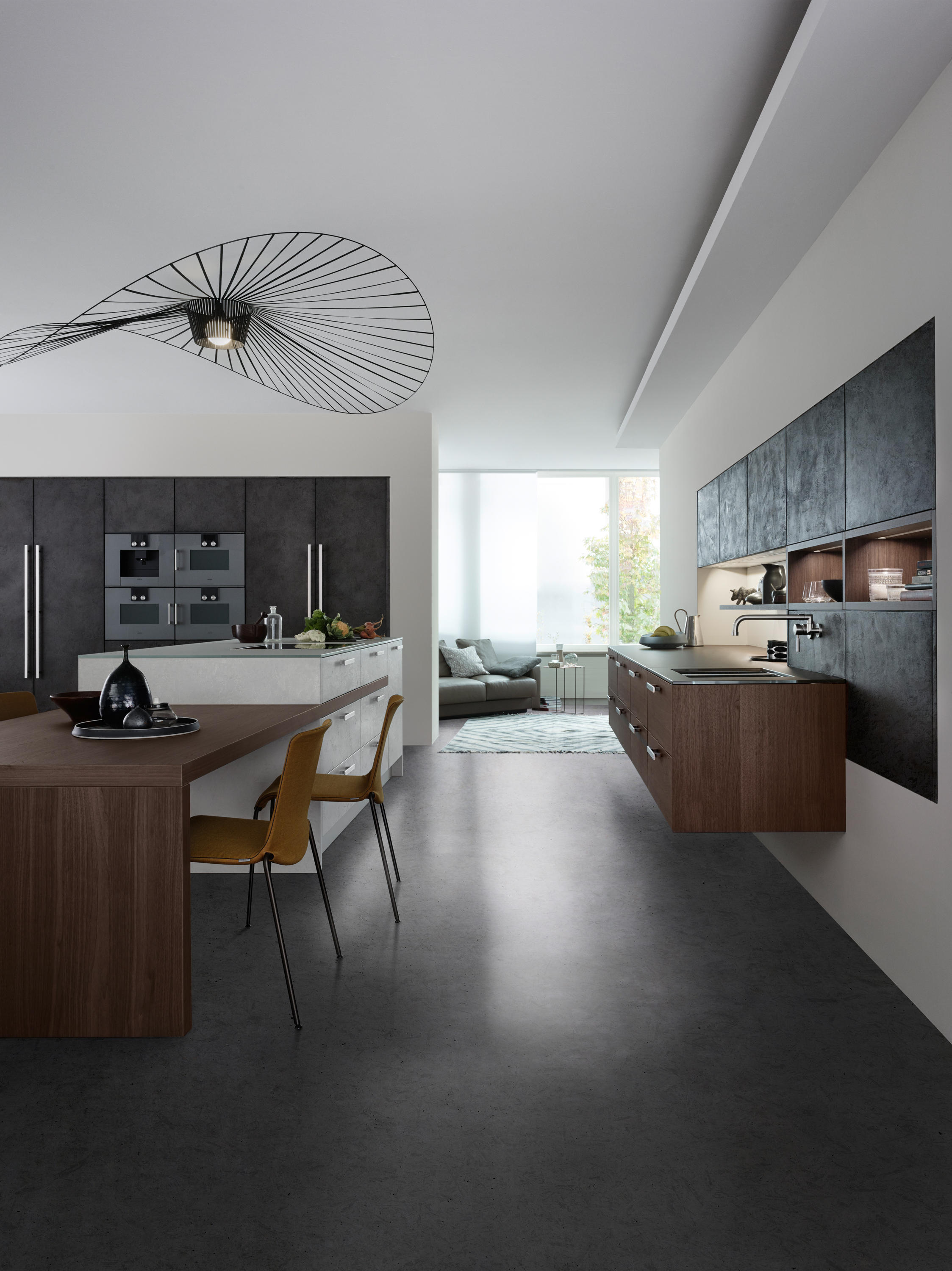 Topos Concrete Fitted Kitchens From Leicht Kuchen Ag Architonic