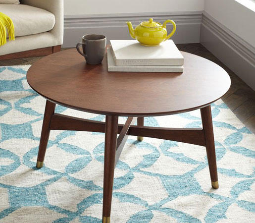 Reeve Mid Century Coffee Table In Pecan By Distributed By Williams Sonoma,  Inc