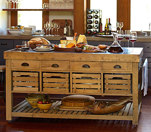 Williams Sonoma Home Cooper Double Kitchen Island By Distributed