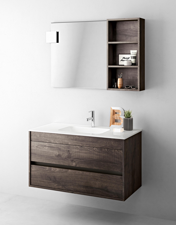 Duetto 03 armadietti specchio mastella design architonic for Produttori arredo bagno