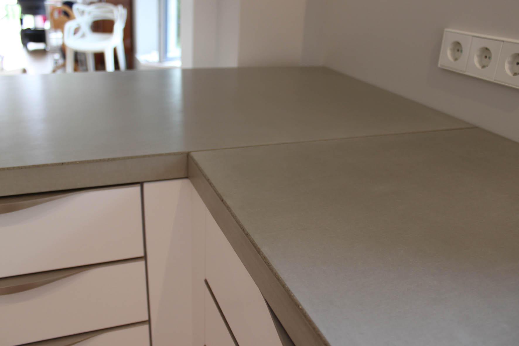 Betonküche I Sichtbeton Arbeitsplatte von Concrete Home Design ...