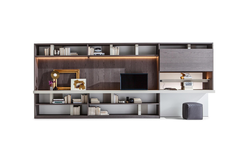 Scaffali Ufficio Design : 505 sistema componibile sistemi scaffale ufficio molteni & c