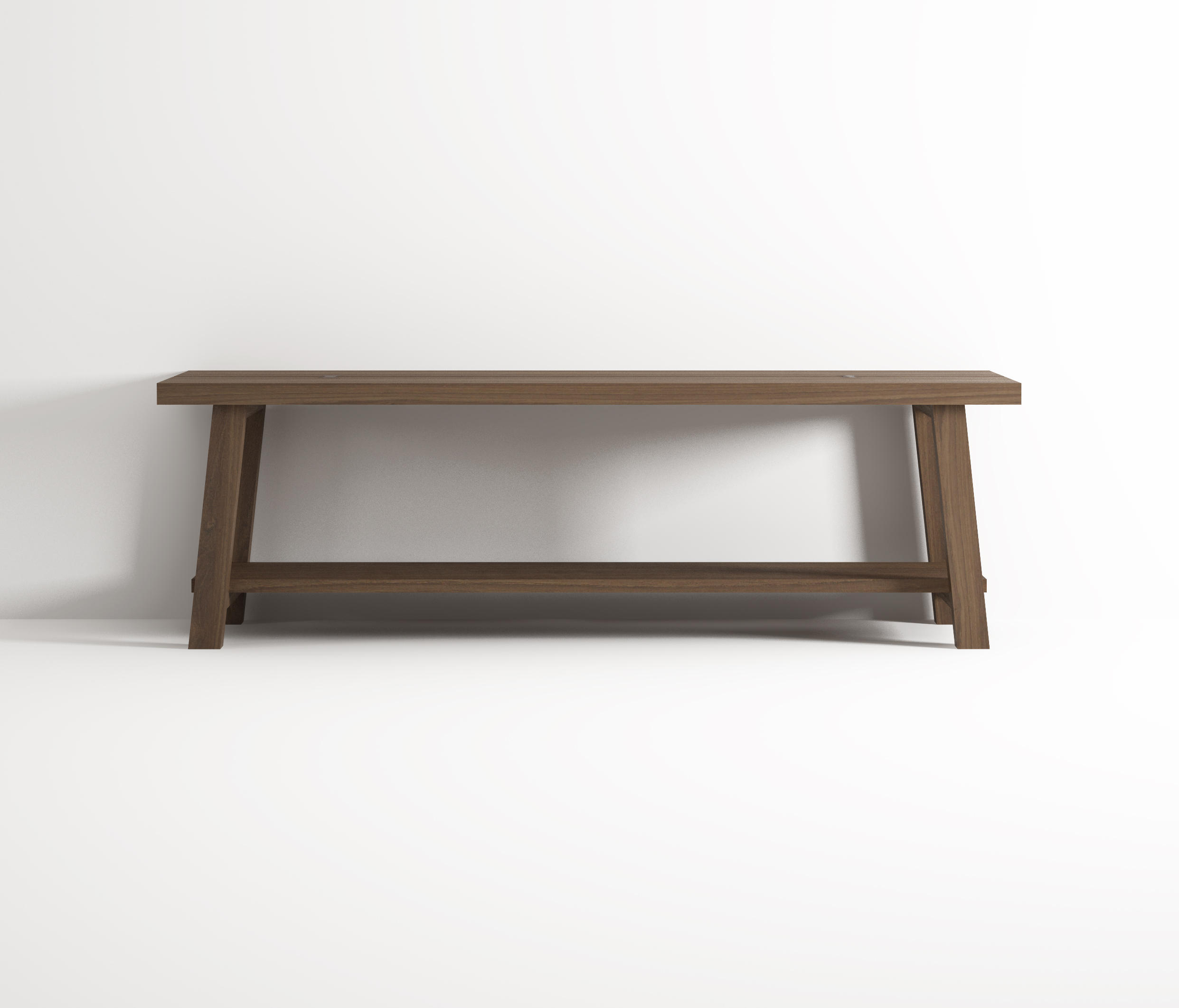 Bench With Shelf Stools Benches From Idi Studio