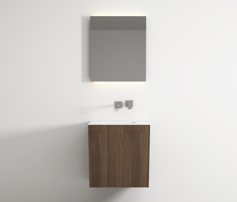 Root Hanging Cabinet 4 Racks Integrated Washbasin Vanity