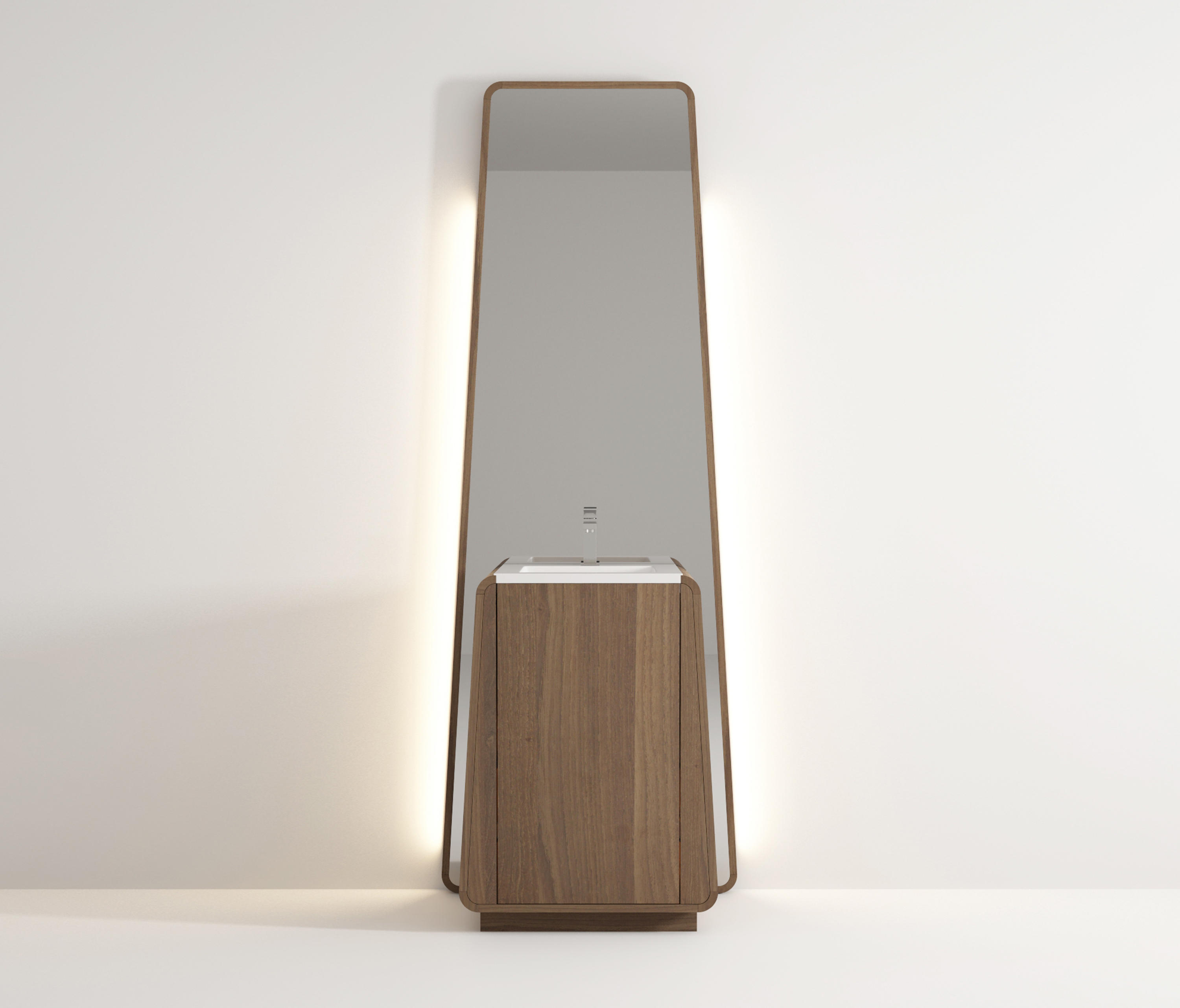 Totem Standing Basin Mirrors From Idi Studio Architonic