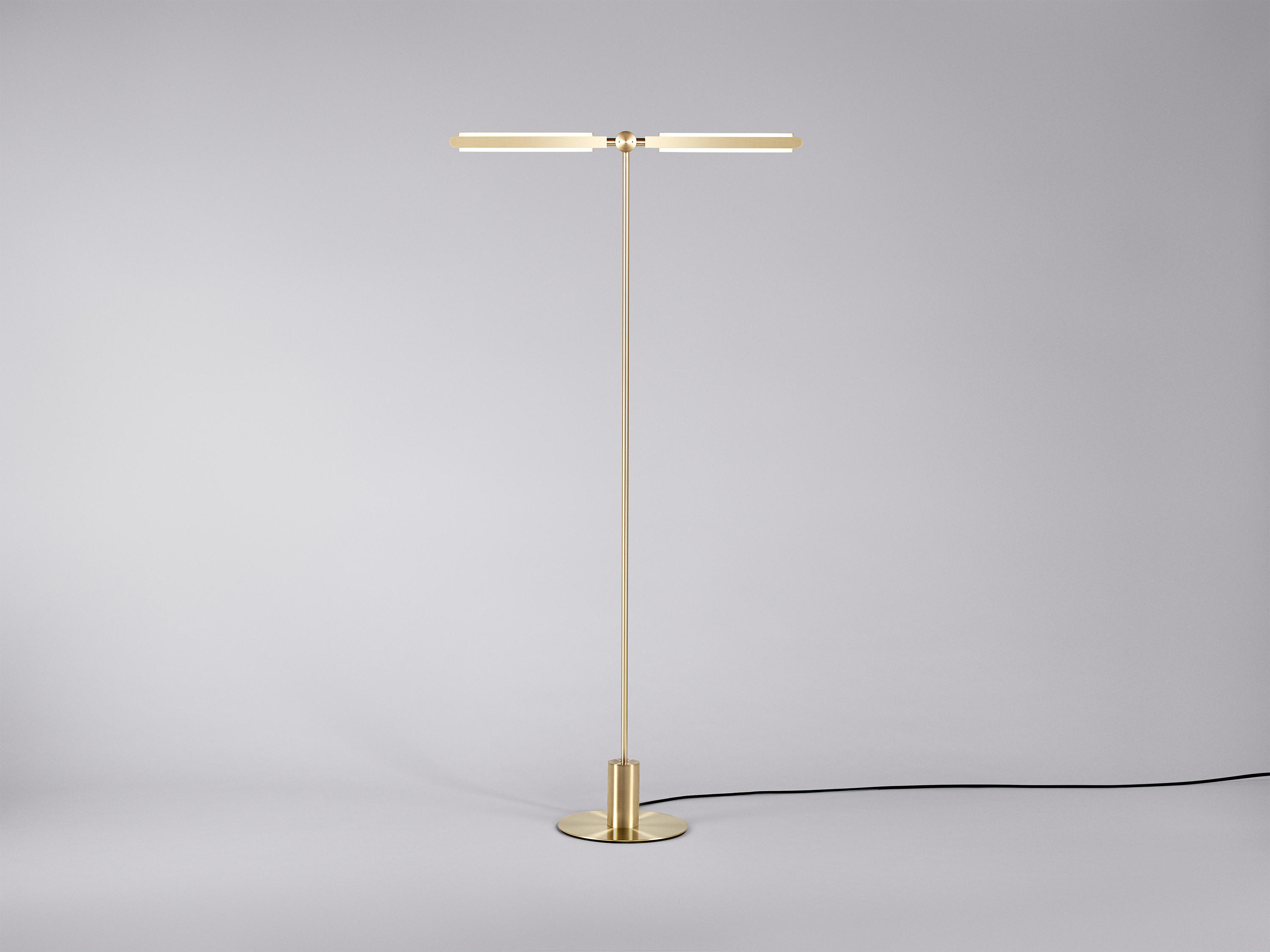 Pris t floor lamp lampade piantana pelle architonic
