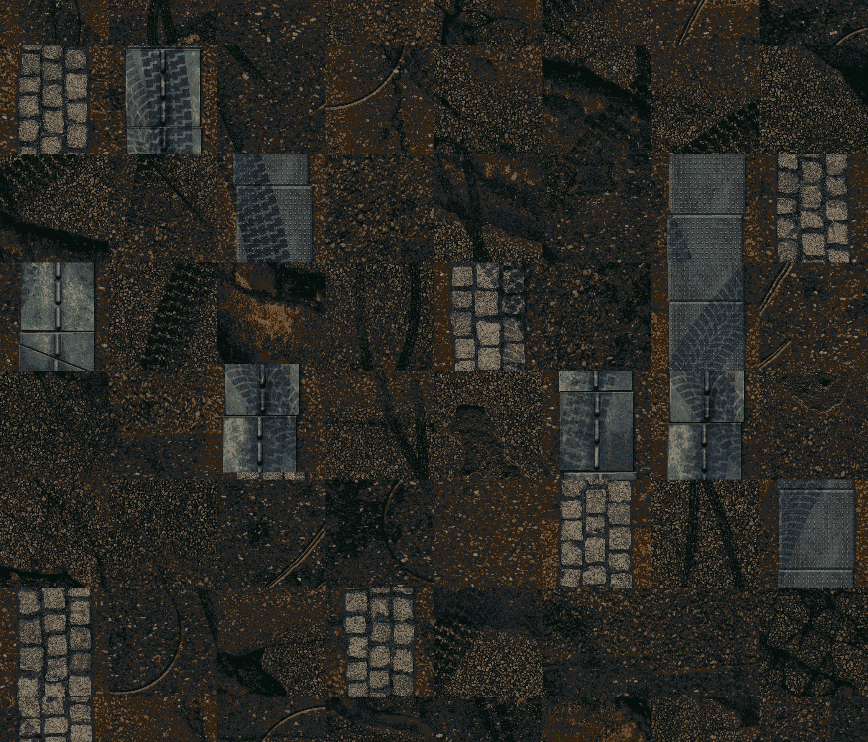 Cityscapes modular shuffle rfm52755122 dalles de for Moquette ege