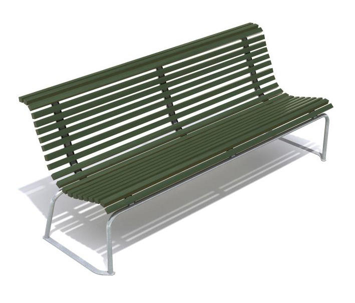 stockholm park bench by hags exterior benches - Fostoria Heaters