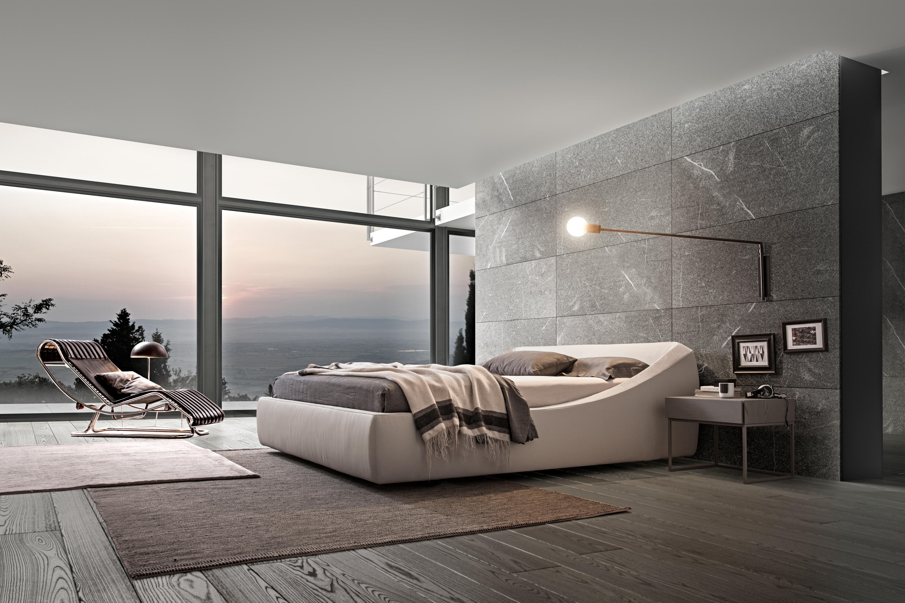 Brera double beds from presotto architonic for Presotto letti