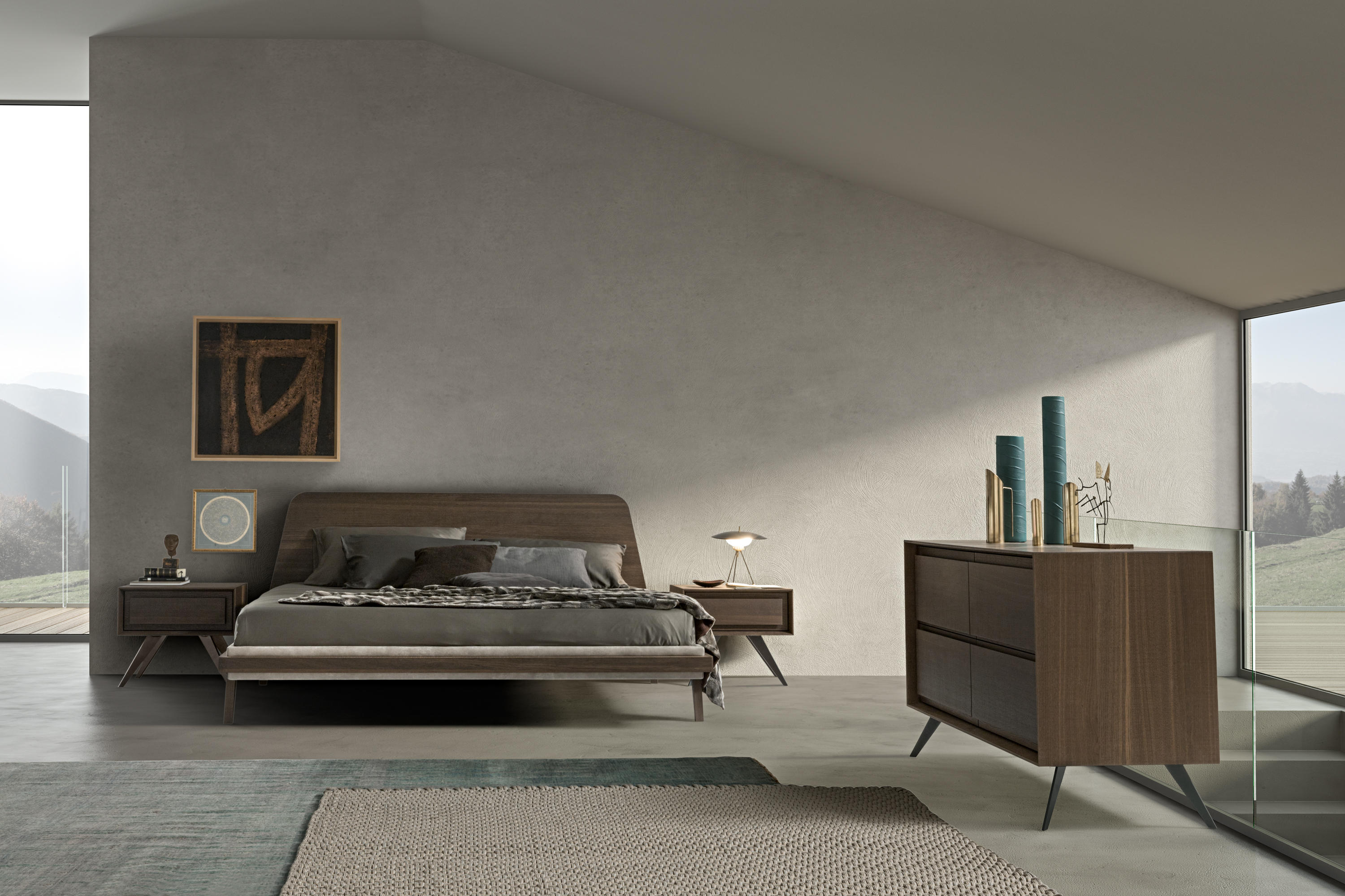 1950 BED - Double beds from Presotto | Architonic