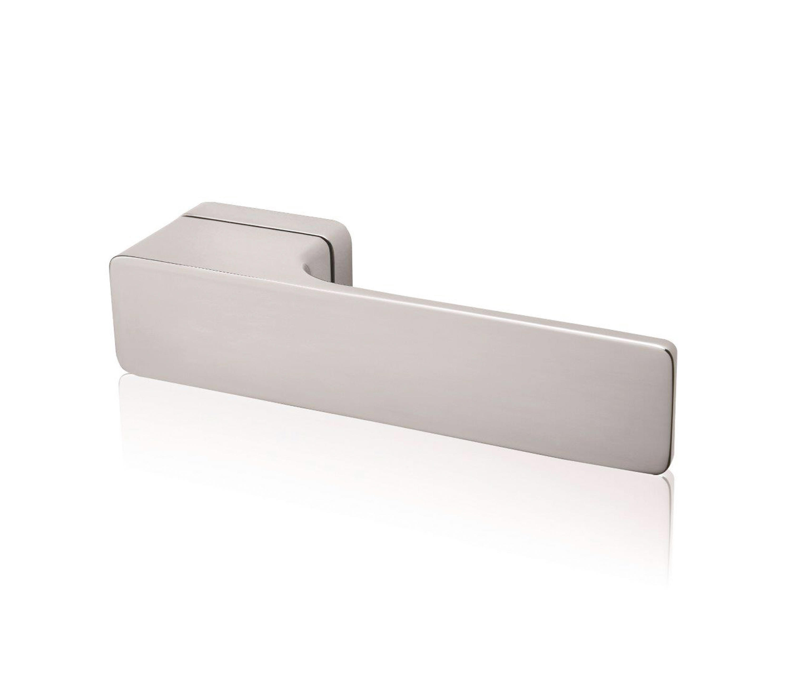 minimal door handle lever handles from m t manufacture. Black Bedroom Furniture Sets. Home Design Ideas