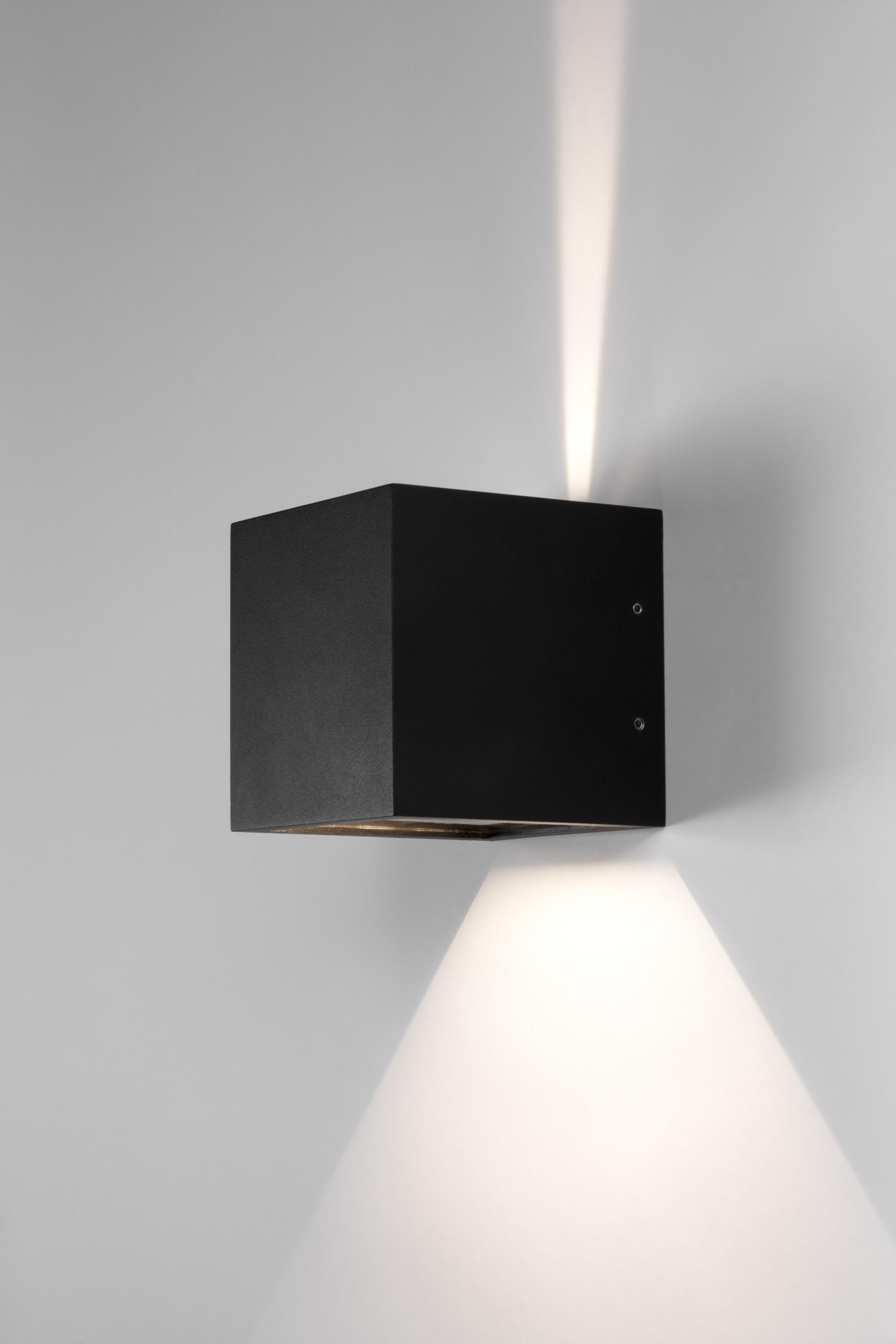 Cube led wall lights from light point architonic cube led by light point wall lights aloadofball Gallery