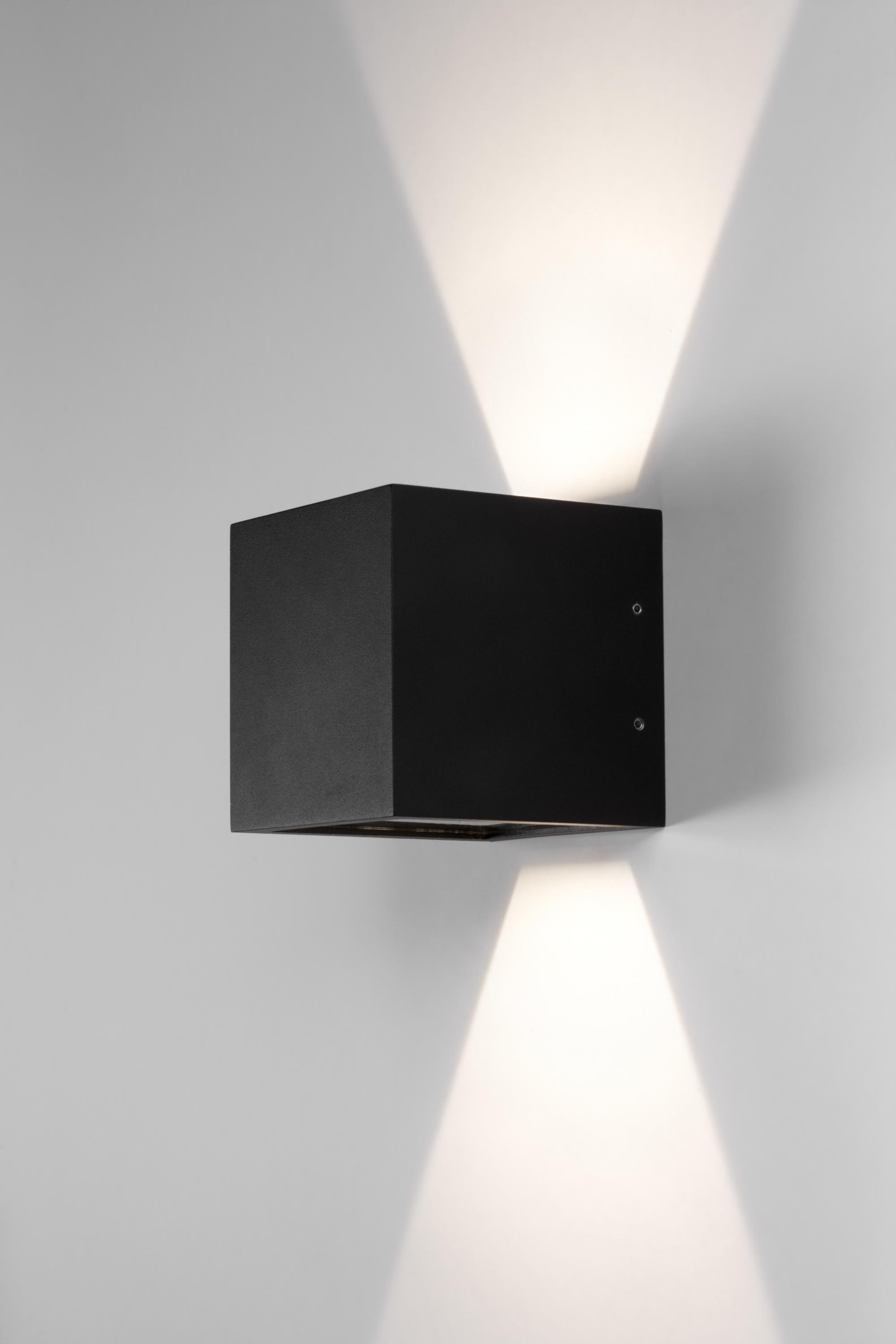 Cube led wall mounted spotlights from light point architonic cube led by light point wall mounted spotlights mozeypictures Images