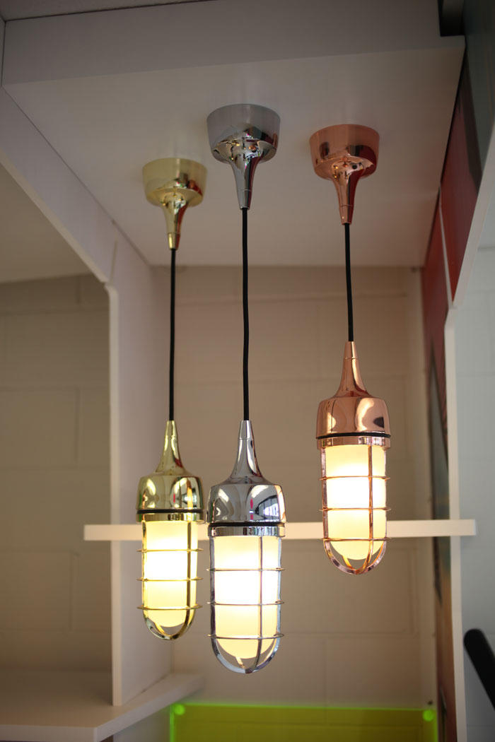 Watch Out Pendant Metallic Suspended Lights From