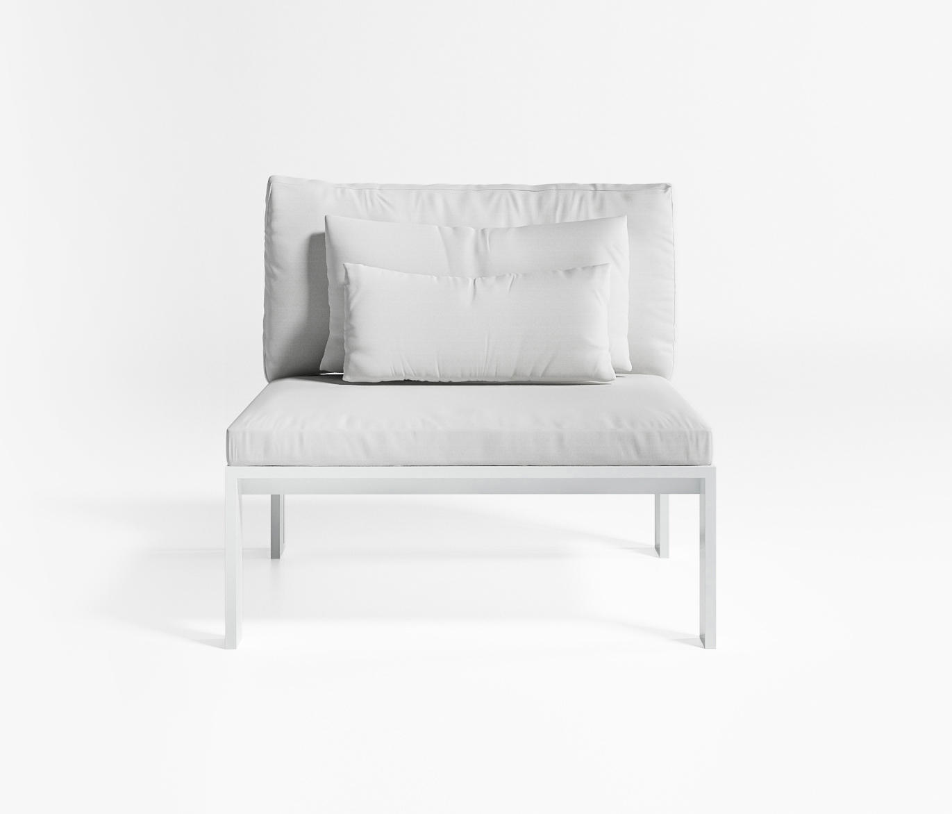 Jian sof modular 3 sillones de jard n de gandiablasco for Sofa modular jardin