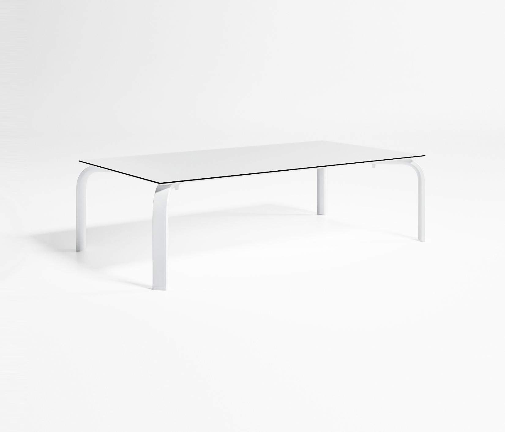 Stack square low table coffee tables from gandiablasco for Table 140 x 70
