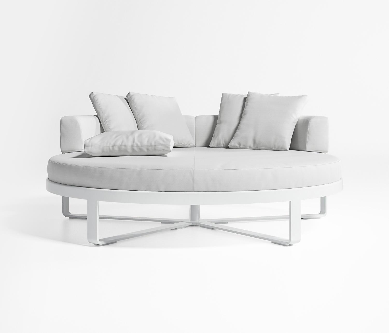 flat lit rond si ges en lot de jardin de gandiablasco architonic. Black Bedroom Furniture Sets. Home Design Ideas