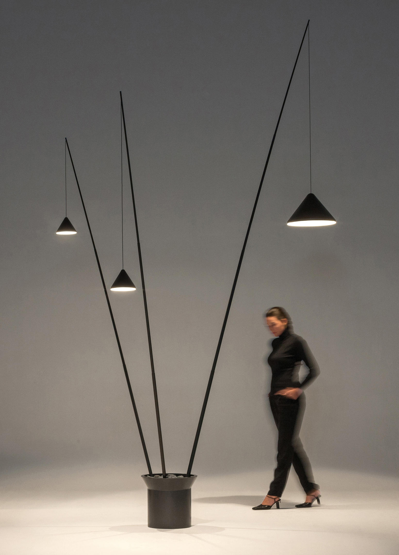 North Floor Lamp Free Standing Lights From Vibia