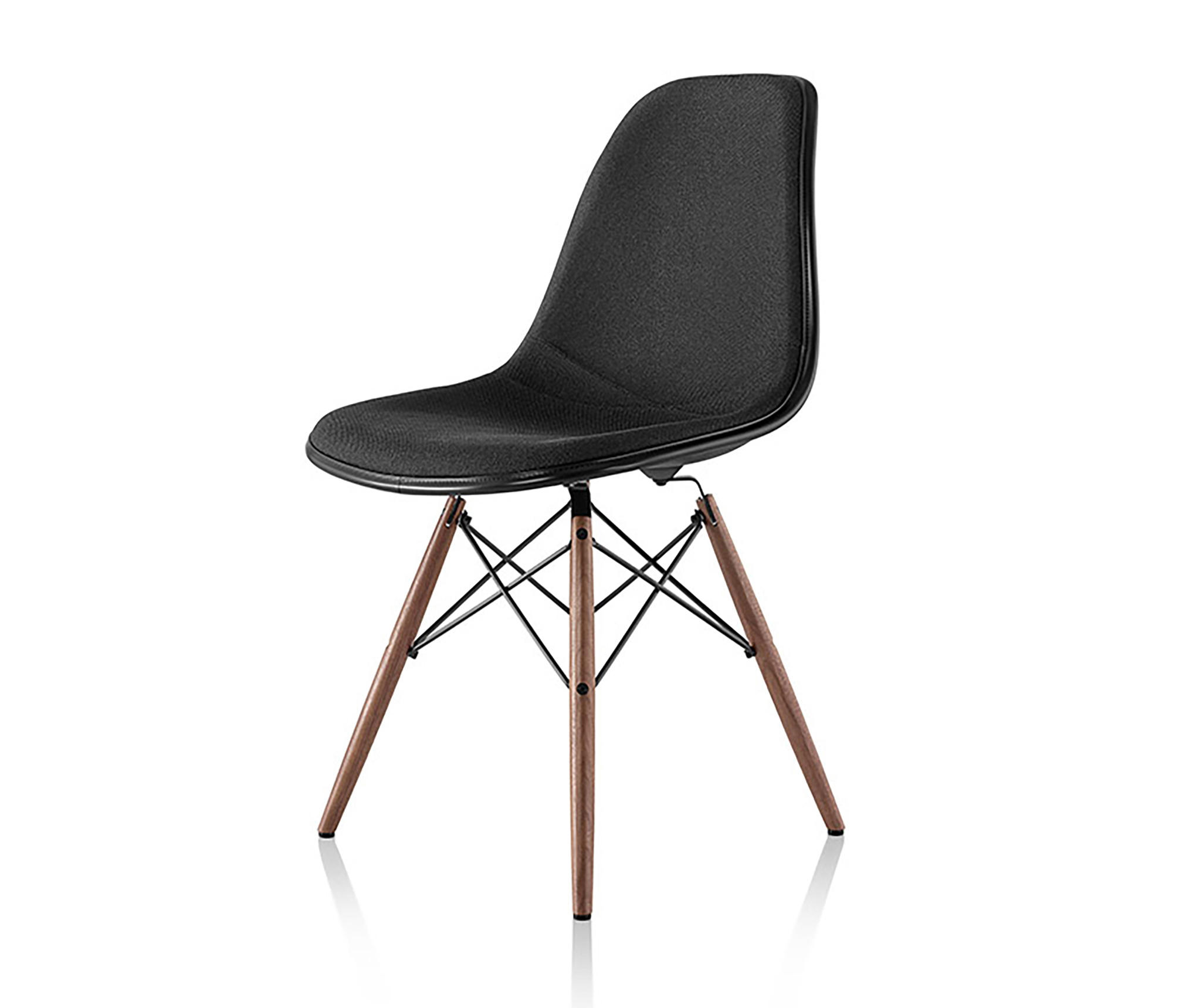 Eames molded plastic side chair chairs from herman for Eames side chair nachbau