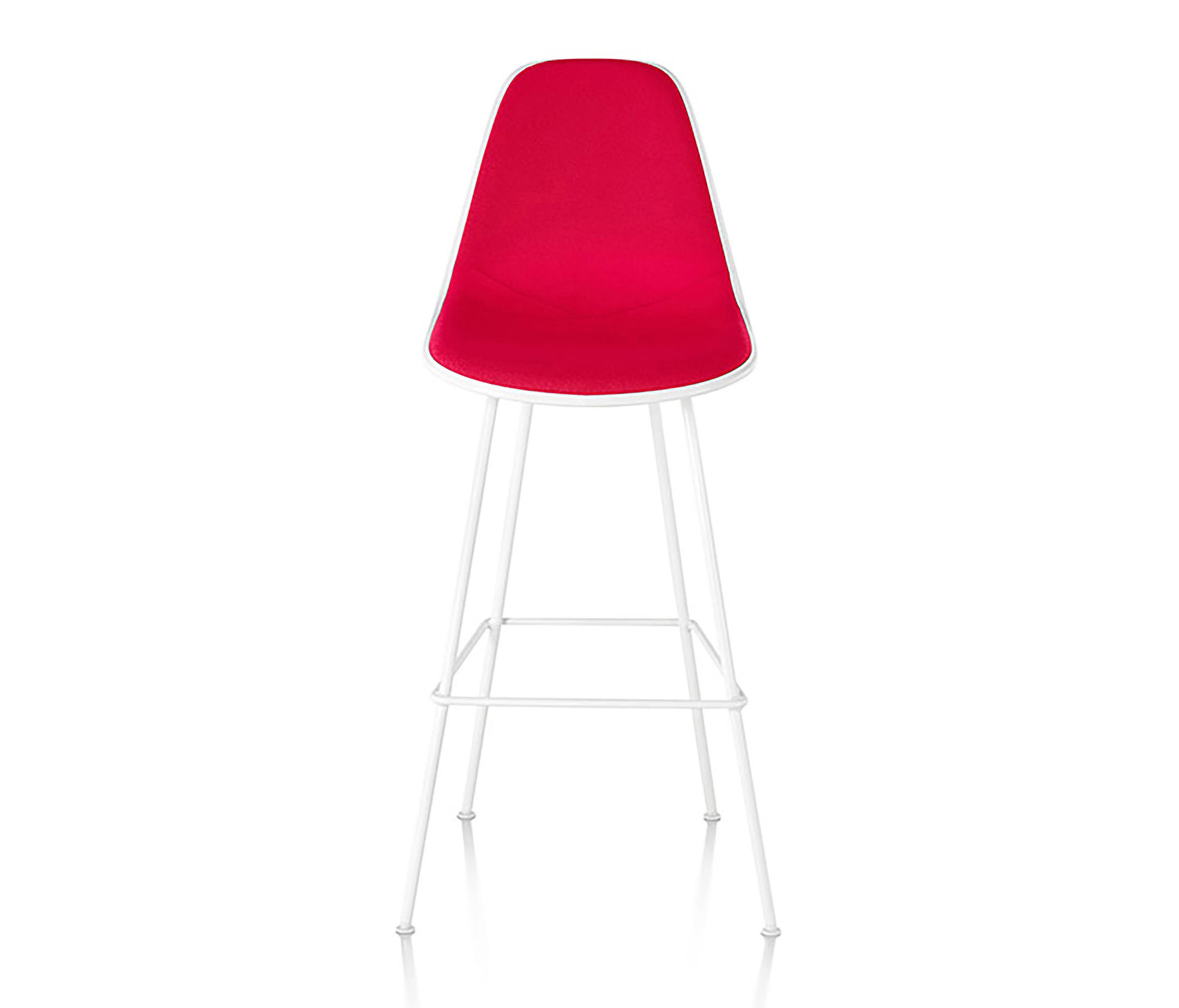 Eames Molded Plastic Stool Bar Stools From Herman Miller