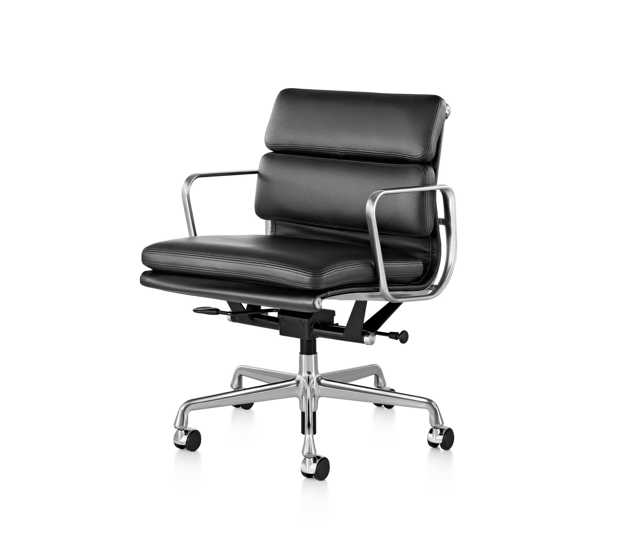 EAMES ALUMINUM GROUP SOFT PAD MANAGEMENT CHAIR Management chairs