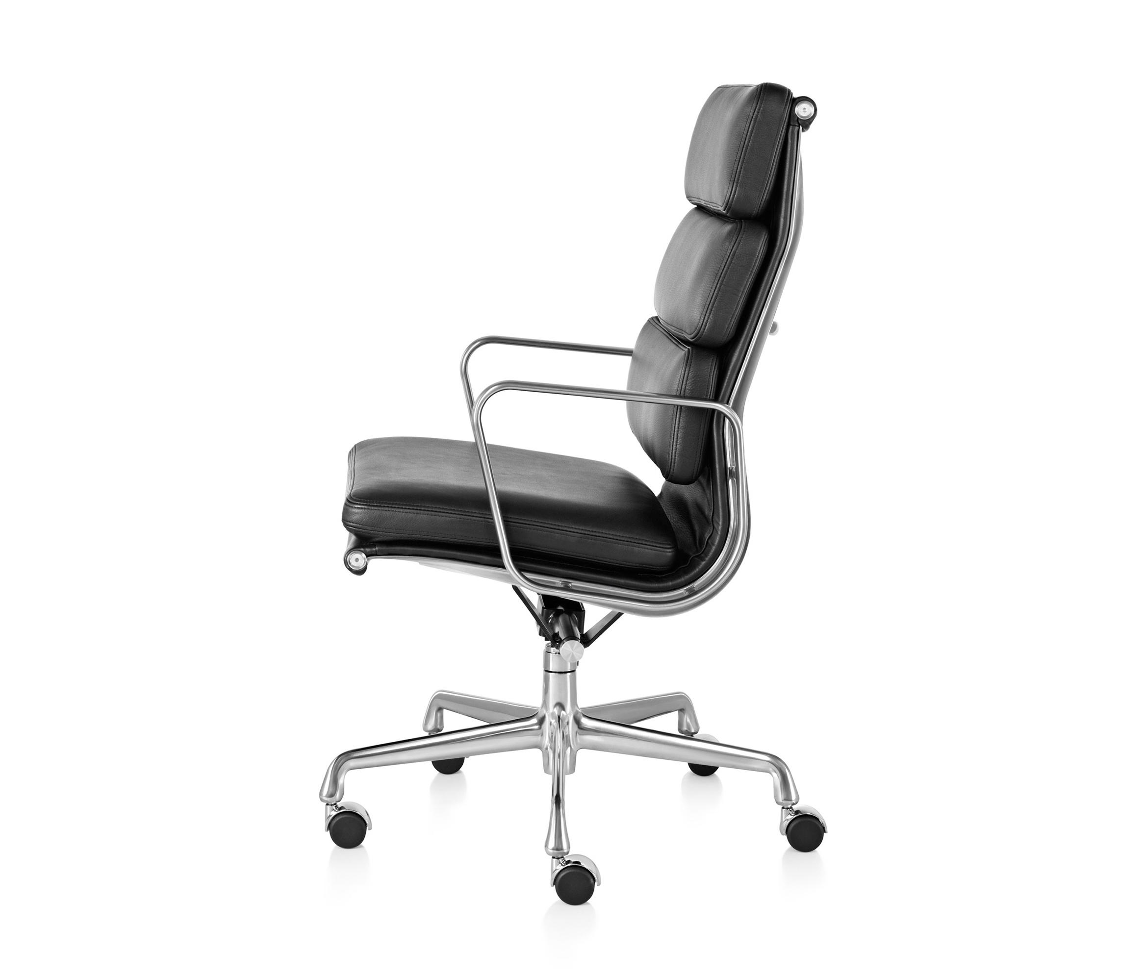 EAMES ALUMINUM GROUP SOFT PAD EXECUTIVE CHAIR - Chairs from ...