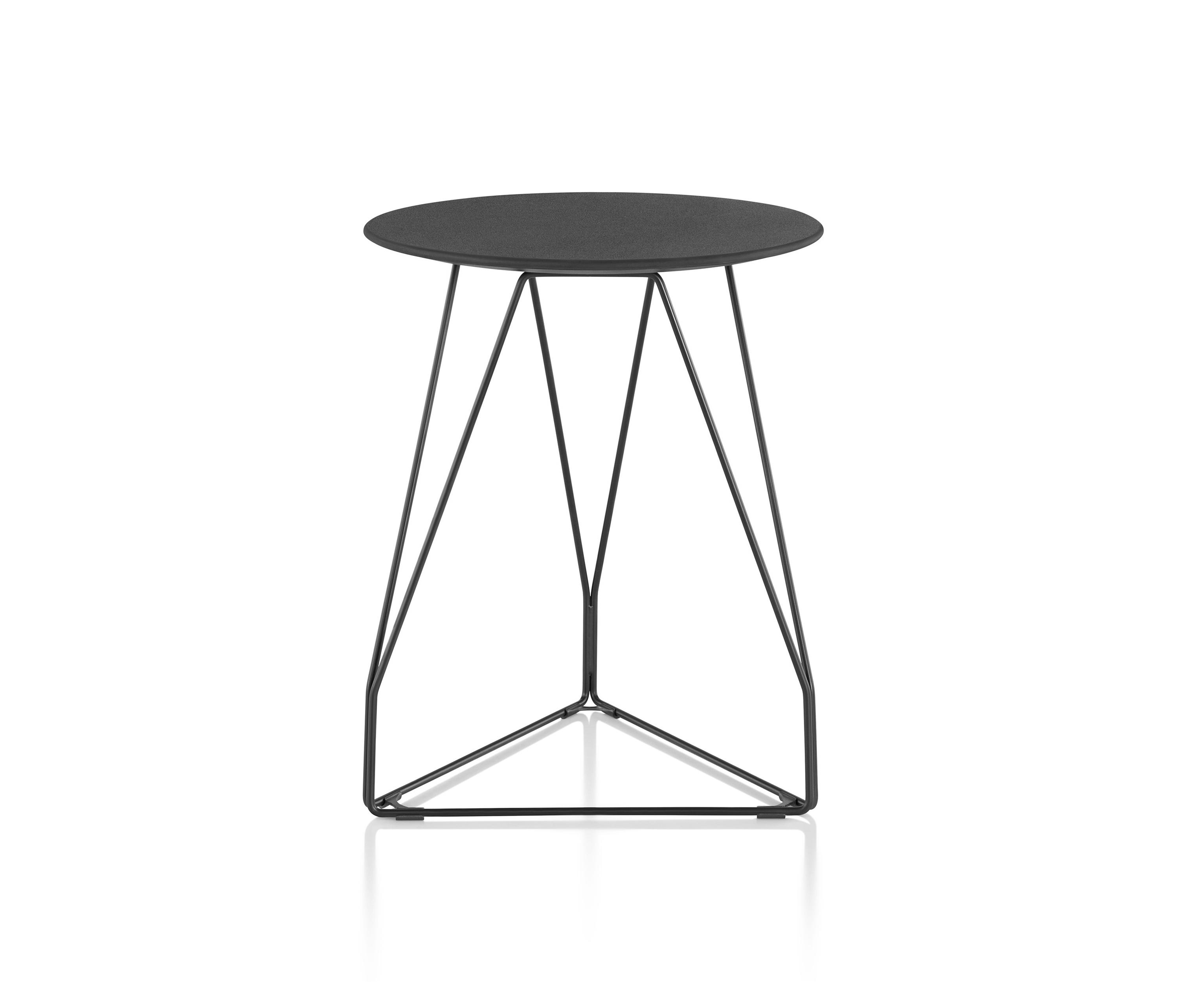 Superbe Polygon Wire Table By Herman Miller | Side Tables ...