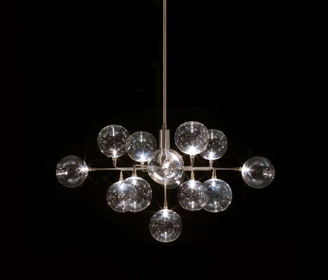 Cluster crown pendant 3 suspended lights from harco loor architonic cluster crown pendant 3 by harco loor suspended lights aloadofball Gallery