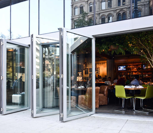 Folding Doors   Aluminum Thermally Controlled | Aloft By LaCantina Doors | Patio  Doors ...