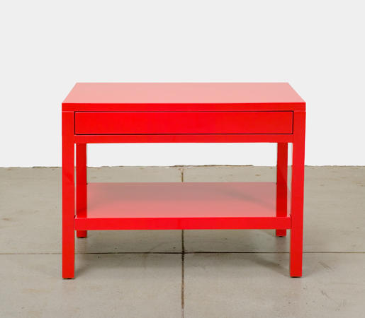 Lacquer End Table By Cliff Young | Side Tables