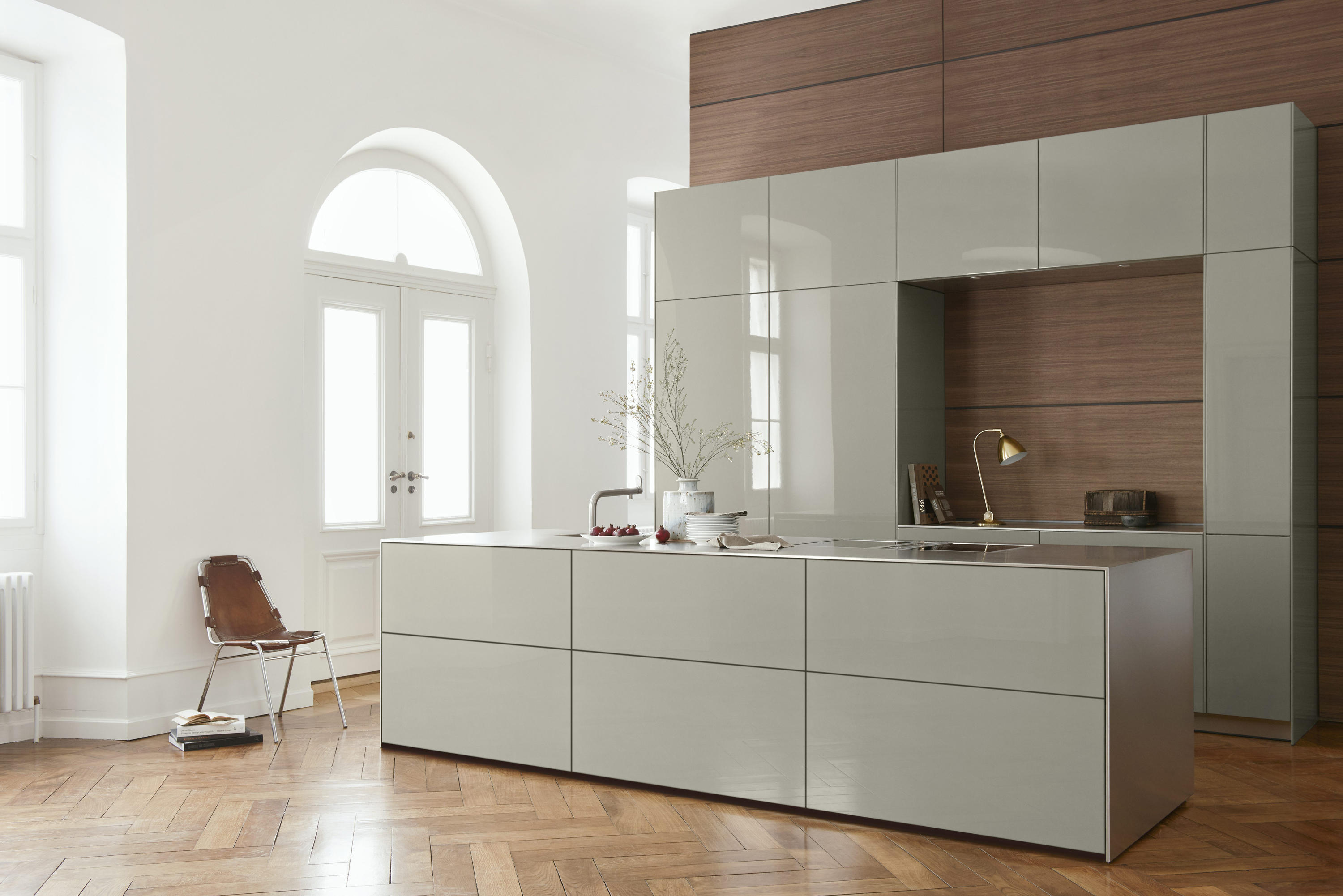 b3 monoblock in stainless steel fitted kitchens from. Black Bedroom Furniture Sets. Home Design Ideas