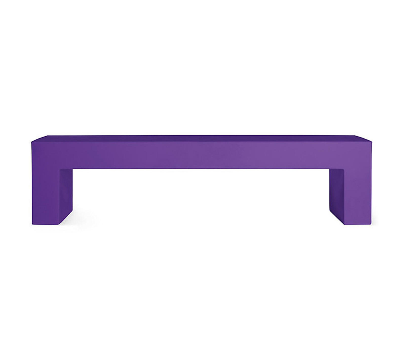 Terrific Vignelli Big Bench Model 1031 Purple Architonic Ncnpc Chair Design For Home Ncnpcorg