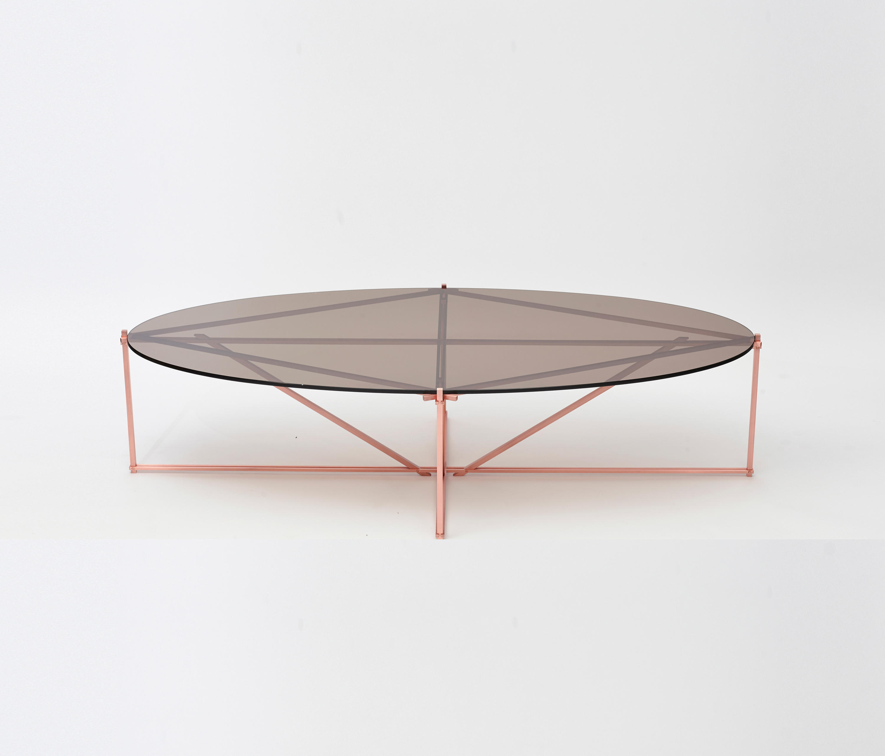 tensegrity oval coffee table by gabriel scott tables tensegrity furniture a16 tensegrity