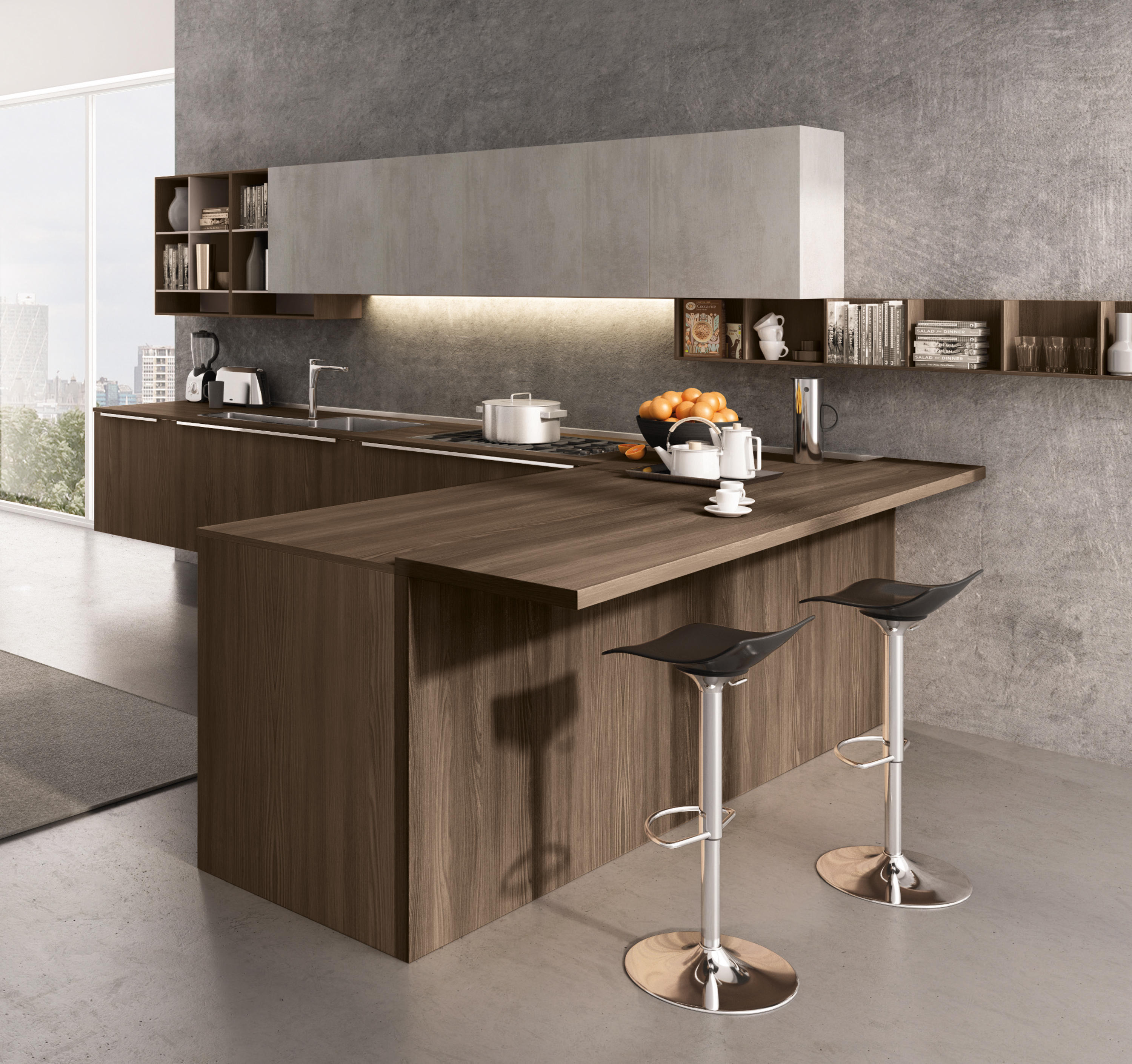 LAIN MULTISYSTEM - Fitted Kitchens From Euromobil