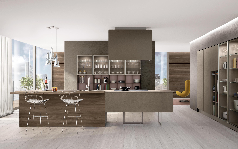 LAIN IMPRIMÉ - Cucine a parete Euromobil | Architonic