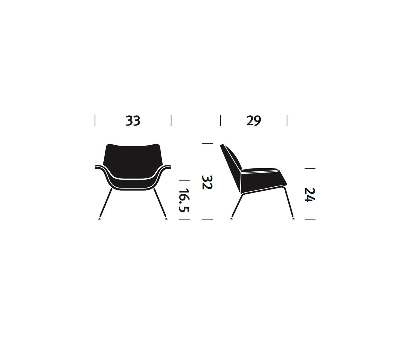 Swoop Lounge Chair Armchairs From Herman Miller Architonic