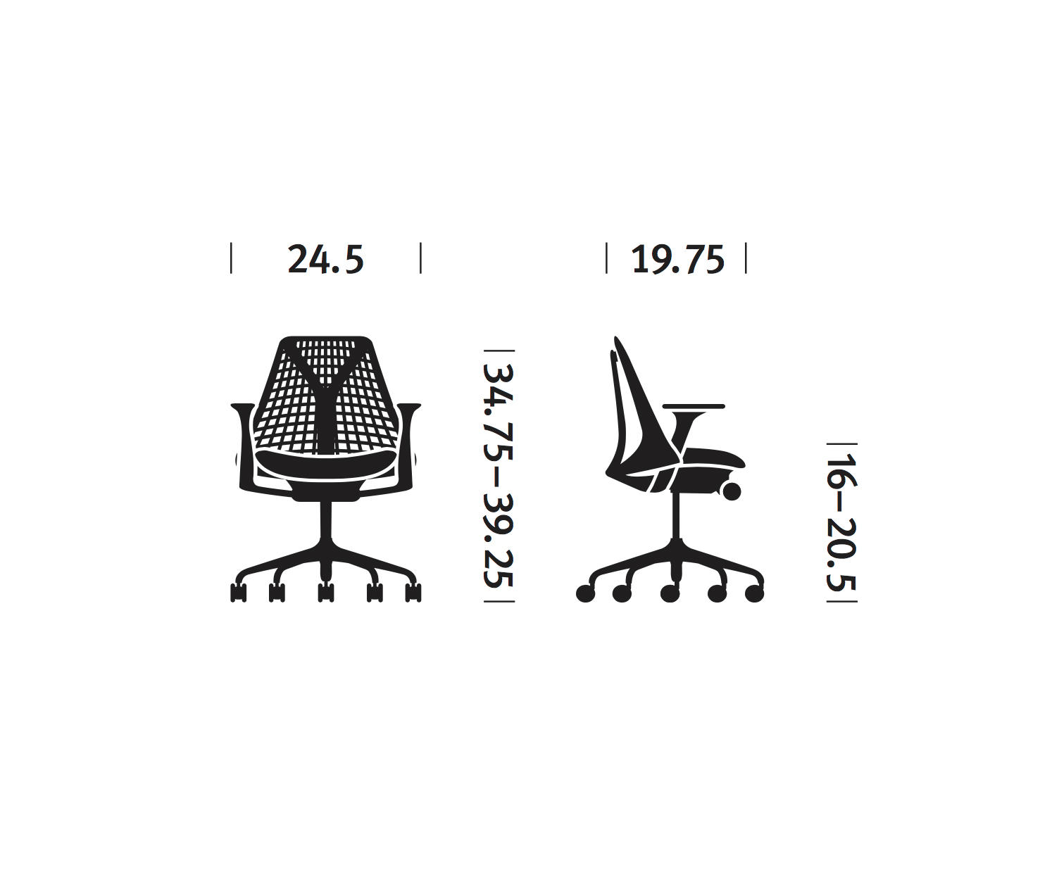 sayl chair by herman miller task chairs