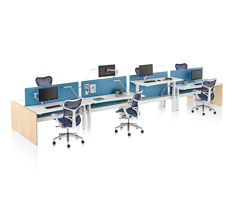 renew link von herman miller tischsysteme - Herman Miller Tischsysteme