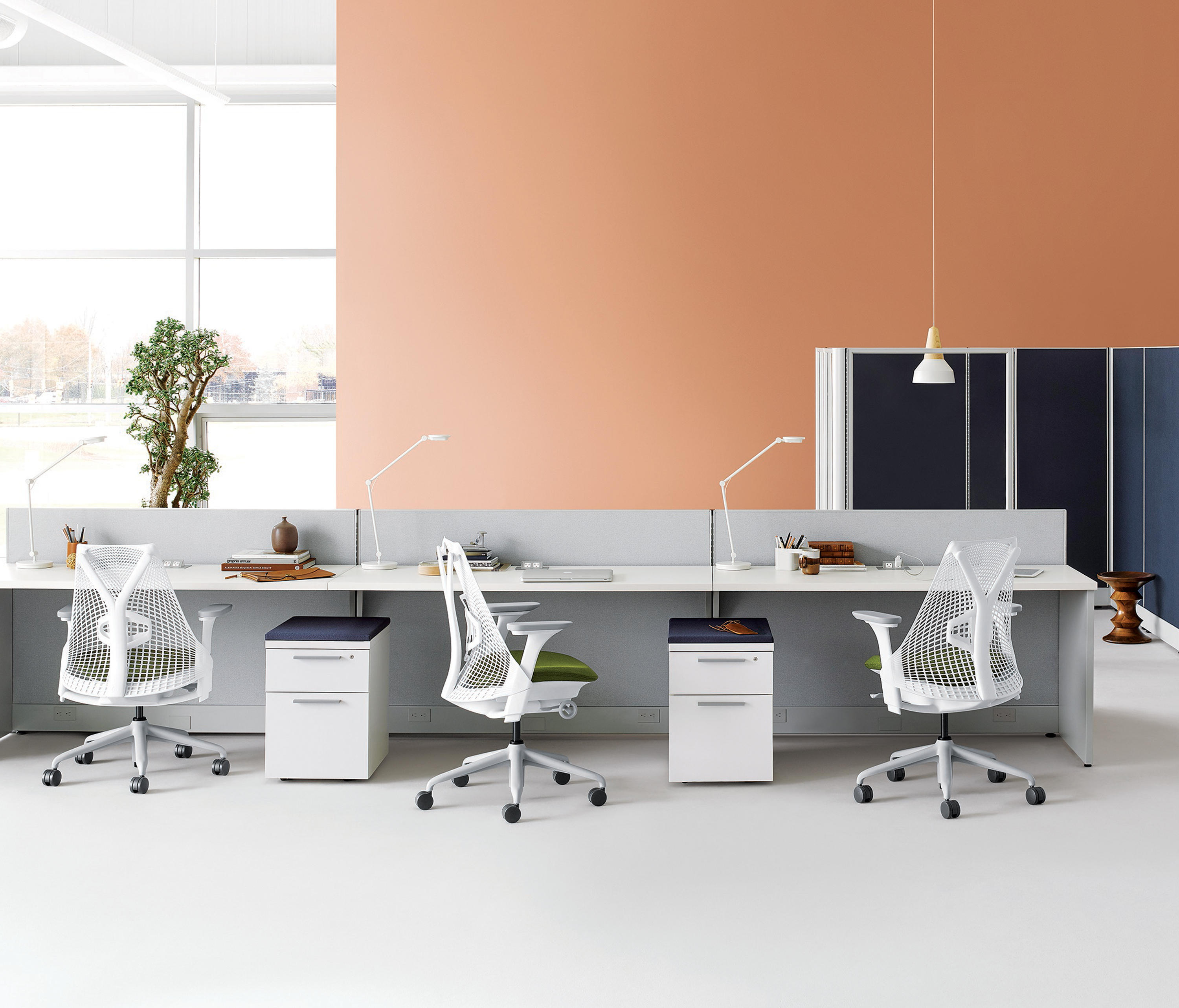 Action Office Desking Systems From Herman Miller