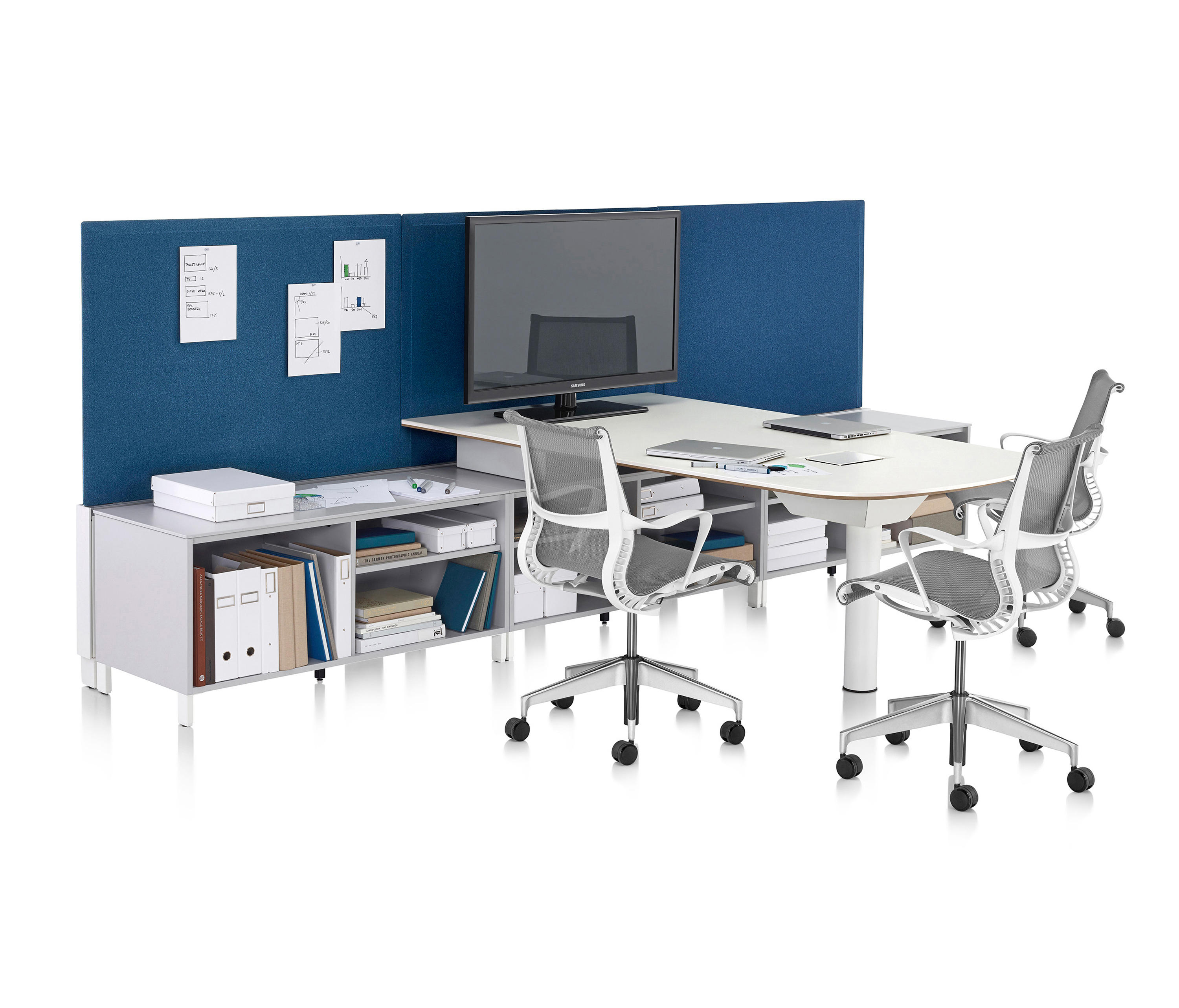 Canvas Office Landscape By Herman Miller | Desks ...